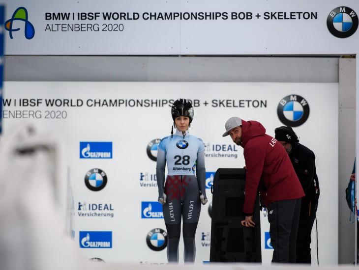 Dārta Zunte Pasaules čempionāta debijā ieņem 28.vietu