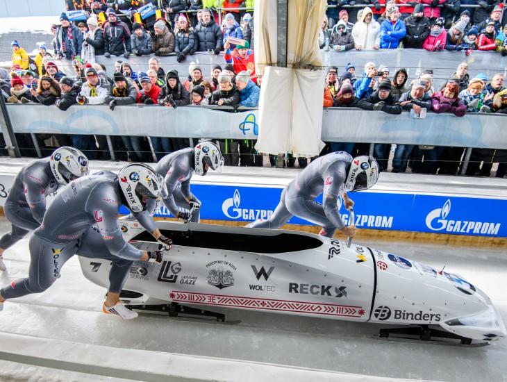 Maijā notiks jauno bobslejistu un skeletonistu atlases testi