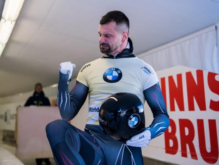 Martins Dukurs izcīna uzvaru Sanktmoricā!