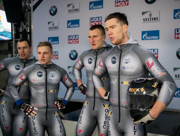 Bērziņa četrinieks izcīna sesto vietu Pasaules junioru čempionātā