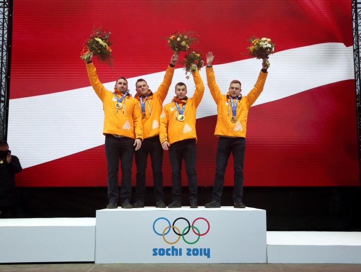 Latvija oficiāli tiek pie godam nopelnītajām Soču ziemas olimpisko spēļu medaļām